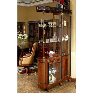 Gary Partition China Cabinet by Astoria Grand
