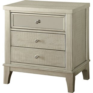 Clementina 3 Drawer Nightstand by Willa Arlo Interiors