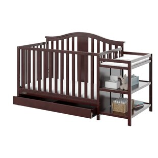 Solano 4-in-1 Convertible Crib and Changer Combo By Graco
