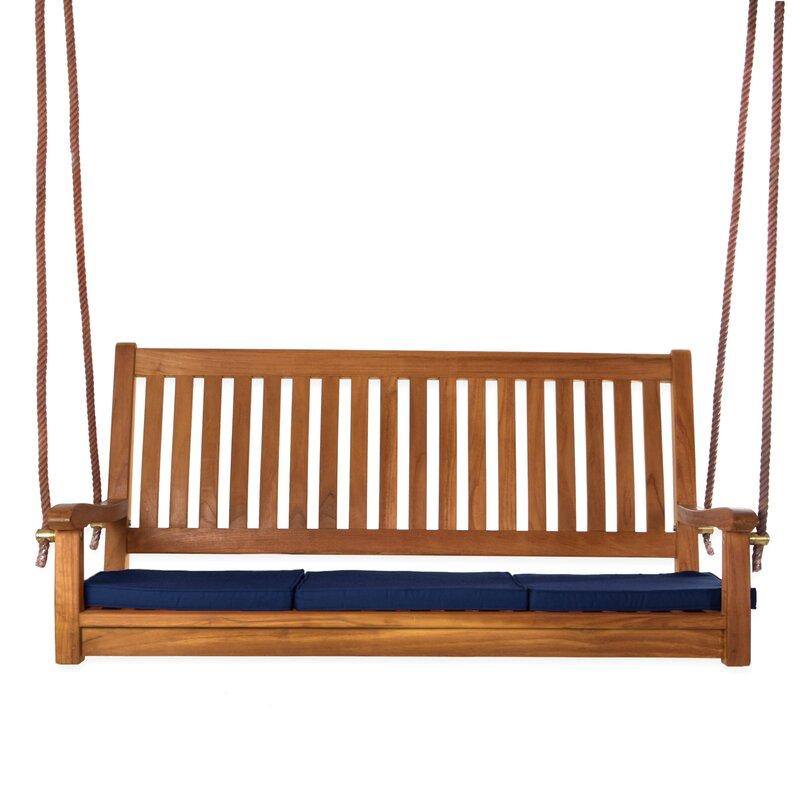 Longshore Tides Humphrey Teak Porch Swing