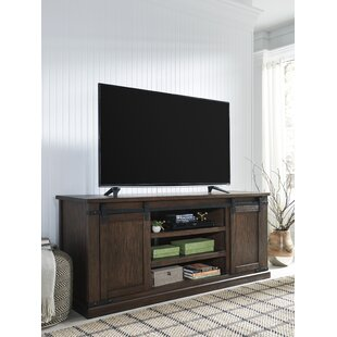 Gracie Oaks Decoste Industrial TV Stand for TVs up to 70