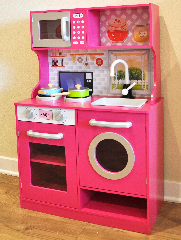 RainbowSophia Kids Play Kitchen Set & Reviews | Wayfair.ca