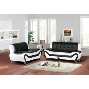 Sunray 2 Piece Living Room Set by Orren Ellis