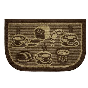 Textured Loop French Bread Wedge Slice Kitchen Area Rug by Structures
