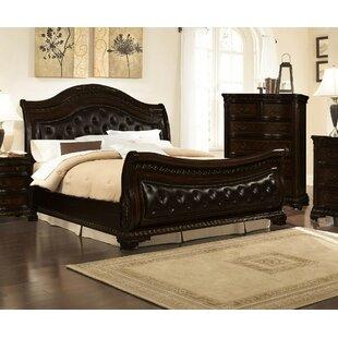 Astoria Grand Seng Upholstered Sleigh Bed