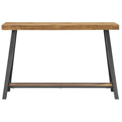 huge selection of 1661e 6869e Laurel Foundry Modern Farmhouse Silvis Console Table Color Oak