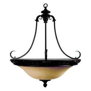 Yosemite Home Decor Verona 4-Light Bowl Pendant
