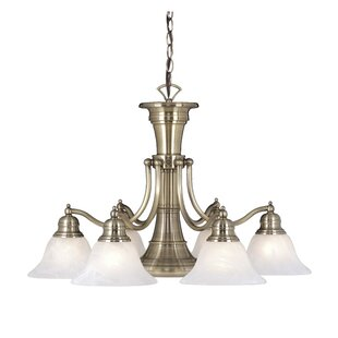 Budd 6-Light Shaded Chandelier by Charlton Home