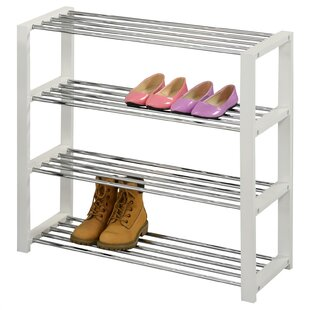 Arina 16 Pair Shoe Rack By Rebrilliant