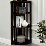 Kujawa Corner Bookcase by Charlton Home®