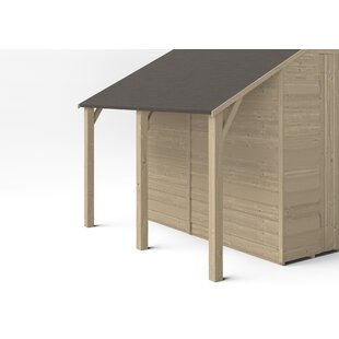 Tanuja 2 Ft. W X 7 Ft. D Solid Wood Garden Shed By Sol 72 Outdoor