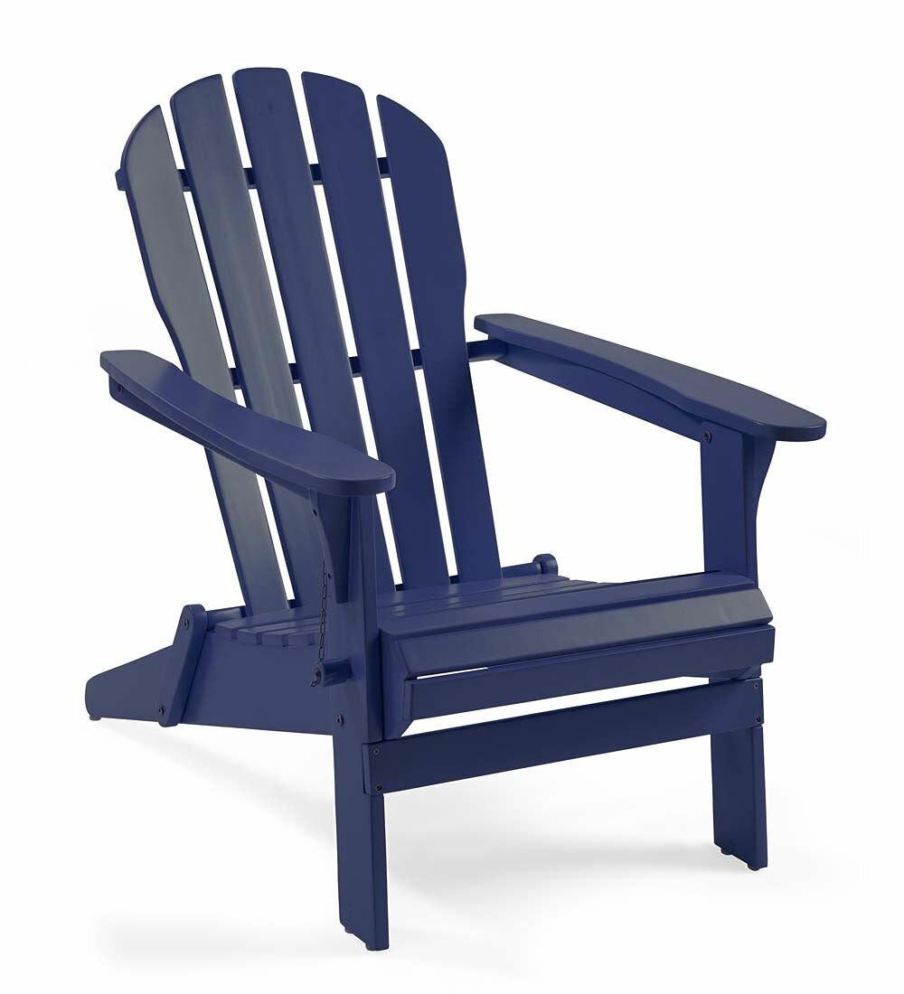 Plow U0026 Hearth Wood Adirondack Chair U0026 Reviews | Wayfair
