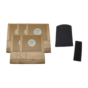 Think Crucial 7 Piece Zing Canister Bag and Filter Set