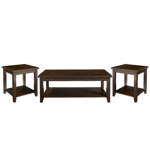 Winston Porter Mereworth 3 Piece Coffee Table Set