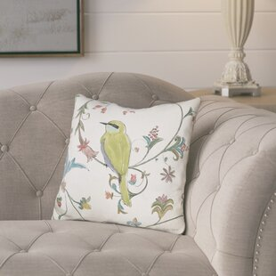Josue Birds Gem Throw Pillow