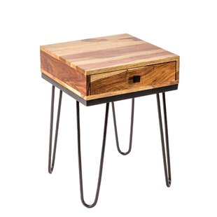 Andrade End Table by Union Rustic