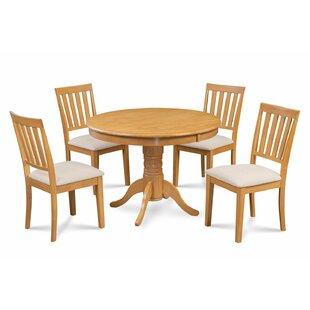 Alcott Hill Cedarville Elegant 5 Piece Wood Dining Set