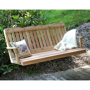 Cesare Countryside Porch Swing by Rosalind Wheeler