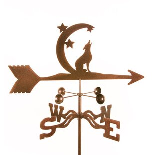 Coyote With Moon And Stars Weathervane By EZ Vane Inc