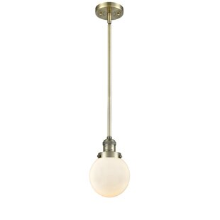 Jackeline 1-Light Globe Pendant by Breakwater Bay