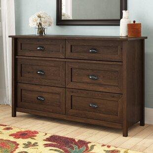 Three Posts Rossford 6 Drawer Dresser