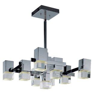 Orren Ellis Orpheus LED 9-Light Pendant
