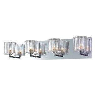 Affordable Krawczyk Sprocket 4-Light Bath Bar By House of Hampton