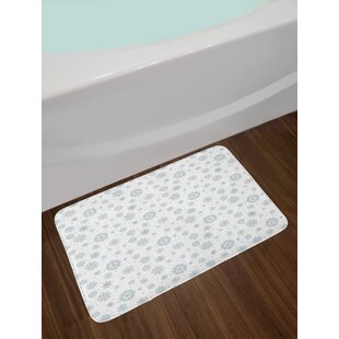 Snowflake Bath Rug