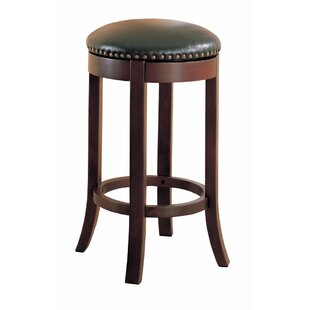 Kamen 29 Swivel  Bar Stool (Set of 2) by Alcott Hill