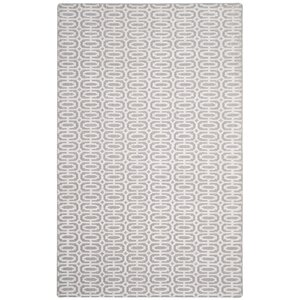 Maxim Hand-Loomed Silver/Ivory Area Rug