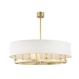 Everly Quinn Lefler 8-Light Pendant