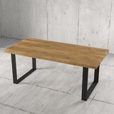 Beckner Solid Wood Dining Table by Foundry Select