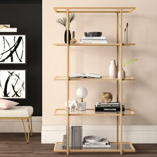 Farrand Etagere Bookcase by Mercury Row