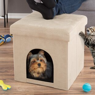 Pet House Ottoman Hooded/Dome with Fold Flat