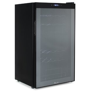 Della 34 Bottle Dual Zone Freestanding Wine Cooler