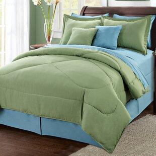 Serenta 10 Piece Reversible Comforter Set
