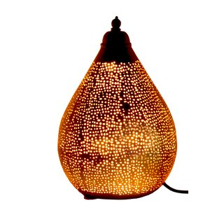 Moroccan table lamp wayfair moroccan 43cm table lamp aloadofball Images