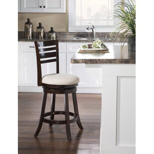 Deals Buckelew 24 Swivel Bar Stool by Charlton Home Reviews (2019) & Buyer's Guide