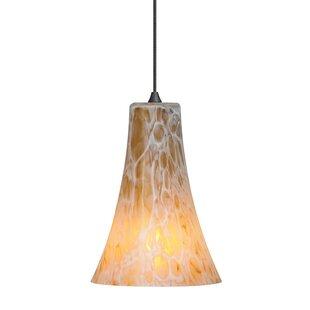 Chalmers 1-Light Cone Pendant by Fleur De Lis Living
