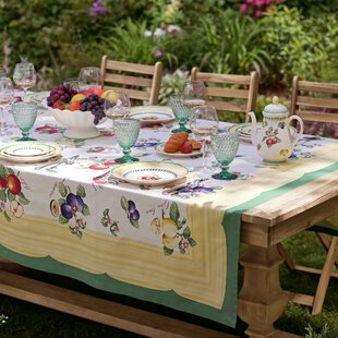 French Garden Tablecloth