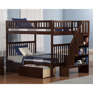 Shyann Full Over Full Bunk Bed with Storage by Viv + Rae