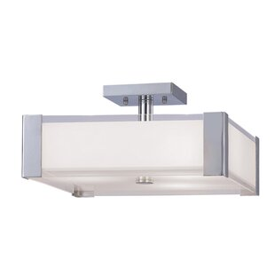 Oldbury Naite 2-Light Semi Flush Mount by Orren Ellis