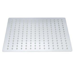 AKDY Square Single Spray Stainless Steel Rain Adjustable Shower Head