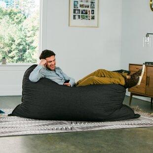 Denim 5.5' Pillow Saxx Bean Bag Lounger