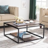Shearer Sled Coffee Table with Storage by Williston Forge