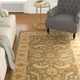 Reviews Cranmore Green / Beige Oriental Rug By Charlton Home