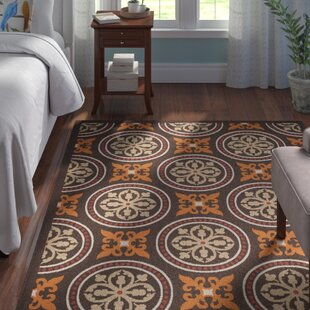 Centeno Chocolate/Terracotta Indoor/Outdoor Area Rug
