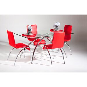 Elaine 5 Piece Dining Set by Chintaly Imp..