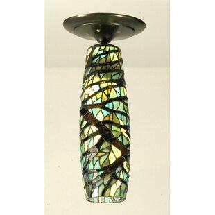 Meyda Tiffany 1-Light Semi Flush Mount