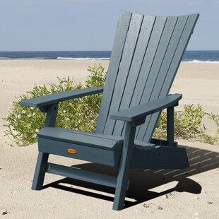 Deutsch Plastic Folding Adirondack Chair by Breakwater Bay